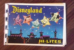 Disneyland Hi-Lites / 11 Cartes Miniatures - Annees 60 - Other Collections
