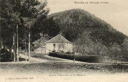 CPA - CELLES-sur-PLAINE (88) - Aspect De La Maison Forestière De La Ménelle En 1906 - France