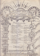 C1  14 18 SAVOIE Annecy AFFICHE PROGRAMME 230e R.I. 1er Janvier 1915 AN VICTOIRE - 1914-18