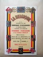 Kalender  LA BELGIQUE  1942 - Petit Format : 1941-60