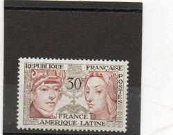 FRANCE    30 F    1956     Y&T: 1060       Neuf Avec Charnière - Francia