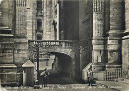D1164 Citta Di Vaticano Ingresso Arco Della Campana 1946 Cancel Allemagne - Vatican