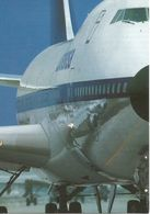 Boeing 747-200 De La LUFTHANSA  (scan Verso) - 1946-....: Moderne