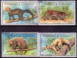 TRINIDAD & TOBAGO 1978 SG #521-24 Compl.set Used Wildlife - Trinidad & Tobago (1962-...)