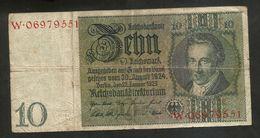 DEUTSCHLAND - Weimarer Republik - 10 Reichsmark (Berlin 1929) - [ 3] 1918-1933 : Repubblica  Di Weimar