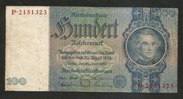 DEUTSCHLAND - Weimarer Republik - 100 Reichsmark (Berlin 1935) - [ 3] 1918-1933 : Repubblica  Di Weimar