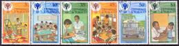 TRINIDAD & TOBAGO 1979 SG #532-37 Compl.set Used Int.Year Of The Child - Trinidad & Tobago (1962-...)