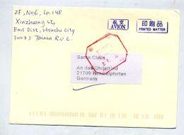 Lettre  Cachet  Taiwan - 1945-... République De Chine