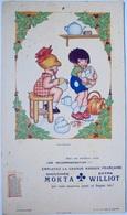 Mokta Williot, Chicorée Extra, 3 Publicités Grand Format, Support De Calendrier, Vanasek Illustrateur - Publicités