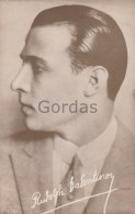 Rudolph Valentino - Actor - Acteurs