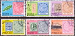 TRINIDAD & TOBAGO 1979 SG #544-49 Compl.set Used Tobago Stamp Centenary - Trinidad & Tobago (1962-...)