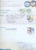 Kazakhstan. Four Envelope Passed The Mail. - Kazakhstan