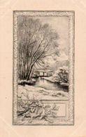 83Vn  Illustrateur à Identifier Paysage Dessin Type Lithographie - 1900-1949