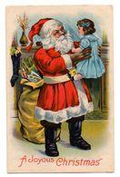 Tarjeta Postal De Papa Noel - Estados Unidos