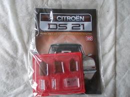 Altaya Citroën DS 21 Montez Pas à Pas La Déesse Des Voitures Francaises Numéro 20 - Model Making