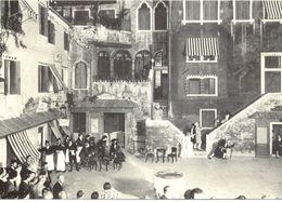 "Italie - Venise - Campiello Du Theatre Goldoni Et Restaurant ""Al Colombo"" - 5625 - Venezia (Venice)"