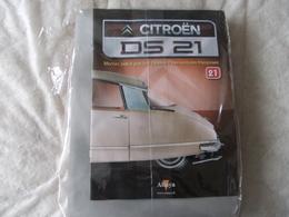 Altaya Citroën DS 21 Montez Pas à Pas La Déesse Des Voitures Francaises Numéro 21 - Model Making