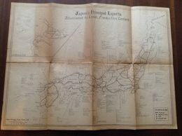Japanese Export Products Map, C. Mid 1950s ? - Autres