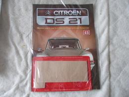 Altaya Citroën DS 21 Montez Pas à Pas La Déesse Des Voitures Francaises Numéro 23 - Model Making