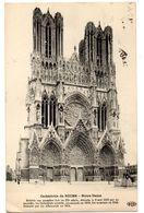 Tarjeta Postal De La Catedral De Reims Circulada De 1914 - Reims