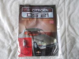 Altaya Citroën DS 21 Montez Pas à Pas La Déesse Des Voitures Francaises Numéro 31 - Model Making