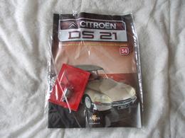 Altaya Citroën DS 21 Montez Pas à Pas La Déesse Des Voitures Francaises Numéro 34 - Model Making