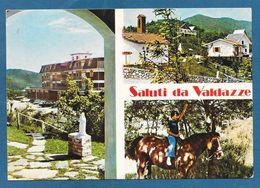 SALUTI DA VALDAZZE PIEVE DI S. STEFANO AREZZO VG. 1976 - Arezzo