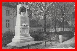 CPA (87) LIMOGES.  Jardin De L'Hôtel De Ville Et Monument Du Docteur Chénieux...B215 - Limoges