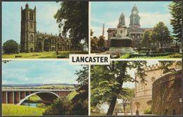 Multiview, Lancaster, Lancashire, C.1970s - Postcard - England