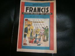 FRANCIS JOURNAL DES ENFANTS BIEN ELEVES  N 22    10/11/1938 - Giornali