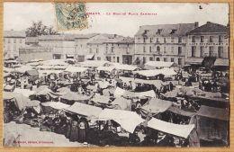 Nw1578 Rare CARMAUX Place GAMBETTA Le Marché 1900s à JUNQUA Avenue Du Roule Neuilly-MIRAMONT LABOUCHE - Carmaux
