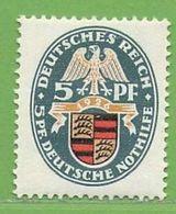 MiNr.398 X  Deutschland Deutsches Reich - Ungebraucht