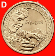 2017-D Cacagawea Native American Dollar - Émissions Fédérales