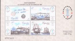 Spanien Block 30 Briefmarkenausstellung  ** MNH Postfrisch Neuf - Blocs & Hojas