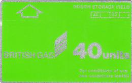 Oil Rig Phonecard - British Gas 40unit (Rough Storage) - Superb Fine Used Condition - Ver. Königreich
