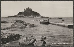St Michael's Mount, Marazion, Cornwall, C.1960 - D E M Thomas RP Postcard - St Michael's Mount