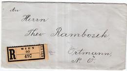 Brief Wien - Mitteilung