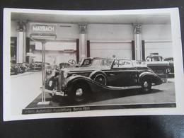 Postkarte Postcard Int. Automobil-Ausstellung Berlin 1939 Maybach IAA - Allemagne