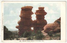 Siamese Twins - Garden Of The Gods, Colorado - 1920 - Etats-Unis