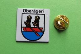 Pin's, Ville, Blason, OBERÄGERI, Suisse, Wappen - Cities