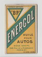 Petit Bloque Note Publicitaire BP ENERGOL PARIS - Other