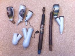 Lot D'éléments Pour Pipes De Réservistes - 1914-18