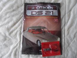 Altaya Citroën DS 21 Montez Pas à Pas La Déesse Des Voitures Francaises Numéro 37 - Model Making