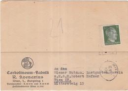 Rechnung Gutschriftanzeige  Wien - Austria