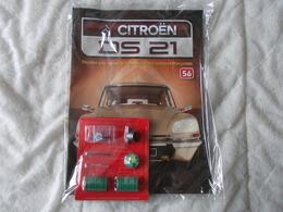 Altaya Citroën DS 21 Montez Pas à Pas La Déesse Des Voitures Francaises Numéro 56 - Model Making