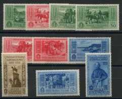 Colonies Italienes N 13 A 22 (Luxe) - Italie