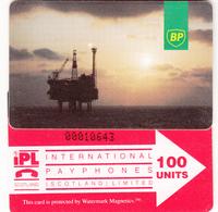 BT Oil Rig Phonecard - British Petroleum 100unit (IPLS) - Superb Fine Used Condition - Ver. Königreich