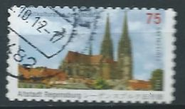 ALLEMAGNE ALEMANIA GERMANY DEUTSCHLAND BUND 2011 UNESCO OLD TOWN OF REGENSBURG MI 2850 YV 2671 SC 2612 SG 3704 - Used Stamps