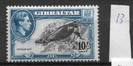 1938 MNH Gibraltar, Perf 13 - Gibraltar