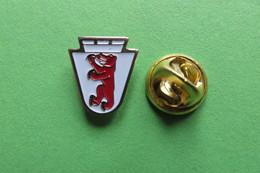 Pin's, Ville, Blason, CHAM, Wappen, Suisse - Cities